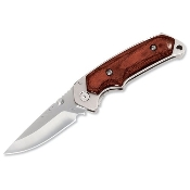 BUCK - ALPHA HUNTER ROSEWOOD FOLDING KNIFE