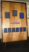 PHOTO BOARD WITH FULL COLOR DDG SILHOUETTE AND EASEL