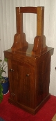 BELL STAND - SOLID WALNUT