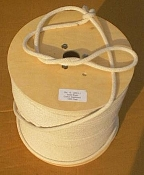 "SASH CORD FOR HEAVING LINES, # 12 CORD. 3/8"" X 1200 FT SPOOL"