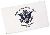 COAST GUARD FLAG - 3'x5' NYLON