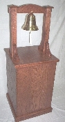 "BELL STAND, SOLID HARDWOOD - THE ""ADMIRAL SPRUANCE"""