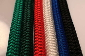 ROPE, NYLON DOUBLE BRAIDED - 600 FOOT SPOOL - VARIOUS COLORS