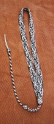 "LANYARD #6 THE ""SALT AND PEPPER"" ORIGINAL STYLE"