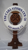 KISBIE CROSSED ANCHOR LIFERING DISPLAY