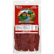 BUFFALO BILL'S COUNTRY CUT BEEF JERKY, 3.5 OUNCE BAG