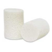 FOAM EAR PLUGS - WHITE - BOX OF 200 PAIRS