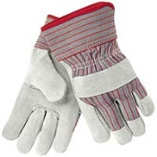 GLOVES, ALL PURPOSE SPLIT LEATHER - ONE DOZEN