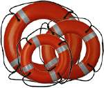 RING BUOY - 20 INCH WITH REFLECTIVE MARKINGS